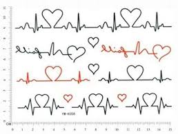 the 25 best heart monitor tattoo ideas on pinterest in memory