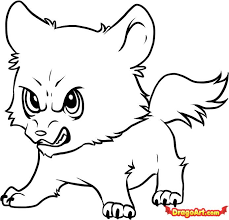 easy wolf drawings free download clip art free clip art on
