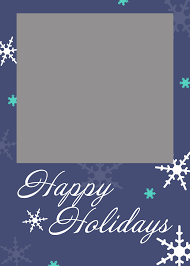 free holiday card templates expin franklinfire co