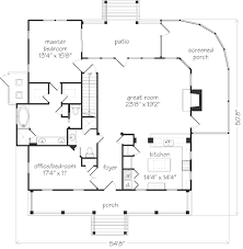 floorplan of a house bermuda bluff cottage allison ramsey architects inc southern