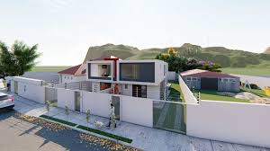 minimalist homes two beautiful minimalist homes 3d cgtrader