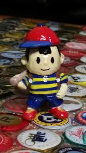 ness smoking pipe earthbound boy