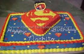 coolest superman cakes u0027s largest homemade birthday cake