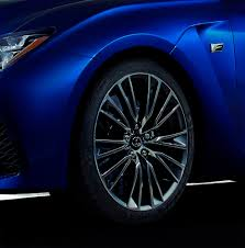 lexus rcf tires updated 2015 lexus rc f delivers performance for all