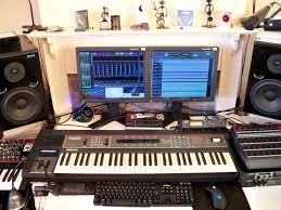 studio keyboard desk studio pictures from 2011