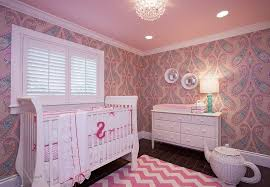 Girls Pink Chandelier Bedroom Baby Nursery Ideas For Girls Along With Crystal
