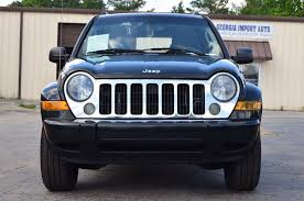 2006 jeep liberty bumper 2006 used jeep liberty 4dr limited at import auto serving