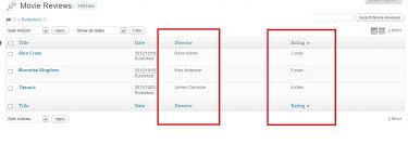wordpress custom post types taxonomies admin columns u0026 filters