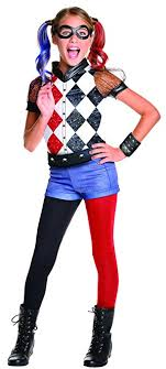 costume for kids rubie s costume kids dc deluxe harley
