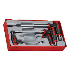 Hex Key Set by Teng Tools Tthex7 7 Piece T Handle Driver Hex Key Set In Tool Tray