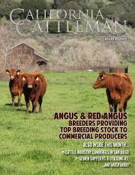 Chair Rock Angus March 2016 California Cattleman By California Cattleman Issuu