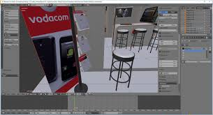 3d Home Design Software For Mobile by Vodacom Mobile Exhibition Stand For Trade Shows 3d Model