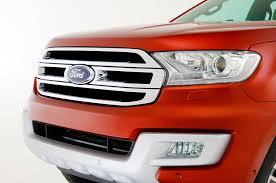 2016 Ford Everest Ford Everest Suv Revealed For Markets Outside U S