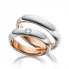 2 wedding rings two tone wedding rings bi colour acredo