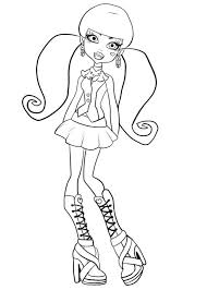 monster high coloring pages baby abbey bominable monster high baby frankie stein coloring pages kids coloring monster