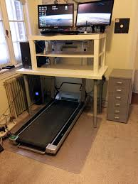 Treadmill Desk Ikea My 50 Walking Desk Imgur