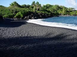 black sand beach hawaii a rainbow of colored sand beaches black sand sand beach and hawaii