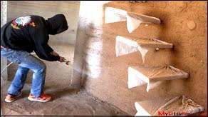 weekly peek earth bag construction part 13 painting cob walls