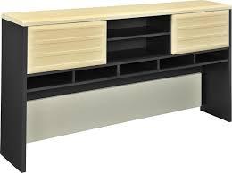 U Shaped Computer Desk With Hutch by Amazon Com Altra Pursuit L Shaped Desk With Hutch Bundle Natural