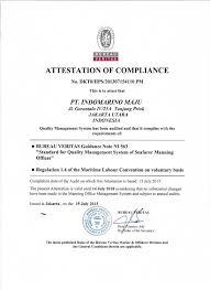 bureau veritas indonesia certification indomarino maju recruitment indonesia