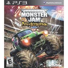 monster truck show video amazon com monster jam 3 path of destruction video games
