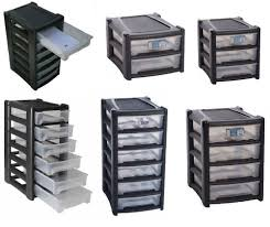 Storage Units For Bedrooms Plastic Shallow Drawer Storage Unit Cabinet Office Bedroom