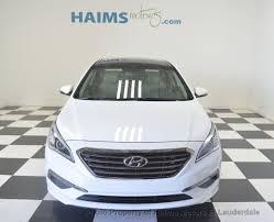 2015 used hyundai sonata 4dr sedan 2 4l limited at haims motors