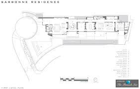 first level floor plan u2013 garage level floor plan u2013 24 5 million