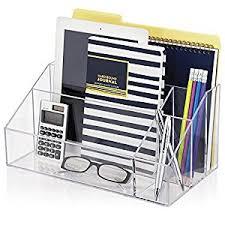 Organizer Desk Amazon Com Premium Quality Clear Plastic Craft And Desktop