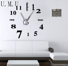 Home Wall Design Online by 3d Wall Clock Online