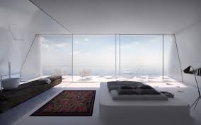 future home interior design bedroom with a view modern house greece interior design