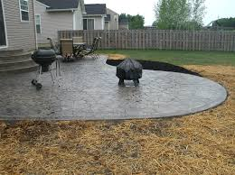 Refinishing Concrete Patio 100 Photos Of Stamped Concrete Patios Gs Flatwork Llc Decorative
