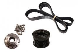 cadillac cts v pulley upgrade lingenfelter 2 55 10 bolt lsa supercharger pulley kit cts v zl1