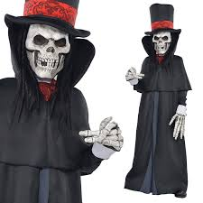 Grim Reaper Halloween Costumes Dapper Death Grim Reaper Skeleton Teens Halloween Fancy