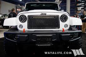 Putco Lights 2015 Sema Putco Led Lights Jeep Jk Wrangler Unlimited