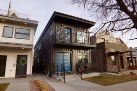 build homes shipping container homes in denver