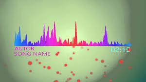 free audio spectrum template for after effects cs6 cs5 cs4 youtube