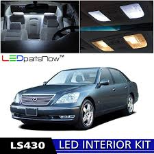 lexus ls430 best tires amazon com ledpartsnow 2001 2006 lexus ls430 led interior lights