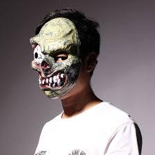 halloween monster zombie bulging eye mask horror pvc mask alex nld