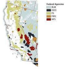 Land Ownership Map California Historical Society Historically Speaking Land