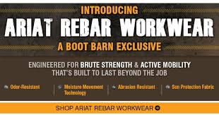 Ariat Boots Boot Barn Bootbarn Com Introducing Ariat Rebar Workwear Free Shirt Milled