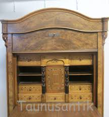 Holz Schreibtisch Designer U0026 Antik Möbel Holz Schreibtisch Sekretär
