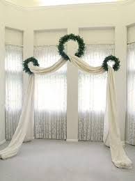 Curtain Designs For Arches A Wedding Arch Altar Or Backdrop Is A Must For Every Ceremony