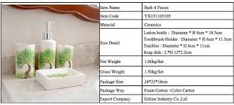 fashion accessories minimalist ceramic sanitary ware bathroom