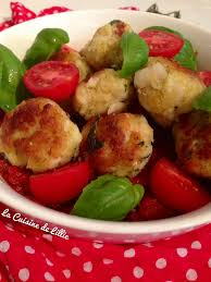 boulette papier mariage boulettes de poisson sauce aux tomates fraiches basilic la