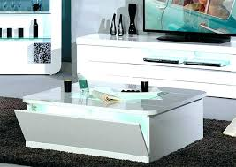 white gloss side table white coffee table storage simplysami co