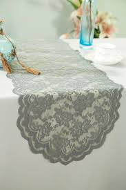 lace table runners wedding silver lace table runners wedding