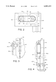 patent us6082433 control system and method for roll up door