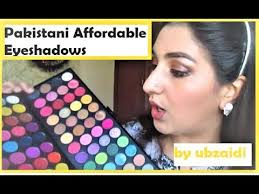 affordable makeup artist affordable makeup glamorousface eye shadow review and