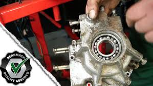 replacing the bearings lt230 part 2 the fine art of land rover